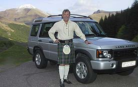 Enjoy an extended tour with Bruce in his luxury Land Rover